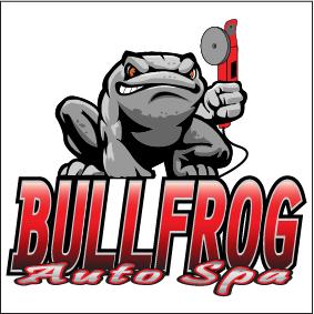 Bullfrog Auto Spa Logo Square